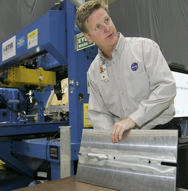 NASA Engineer explains friction stir welding