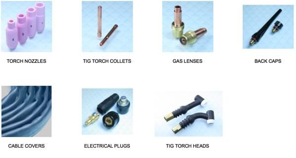 tig torch parts